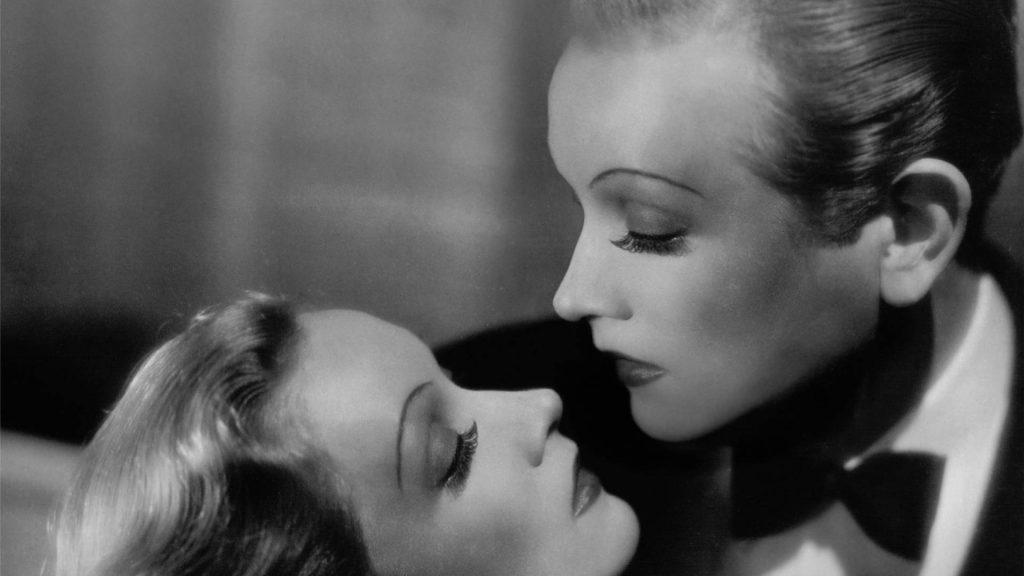 Díptic Marlène Dietrich : Masque & Narcisse © Edouard Taufenbach et Bastien Pourtout, collection Pierre Passebon, 2021.