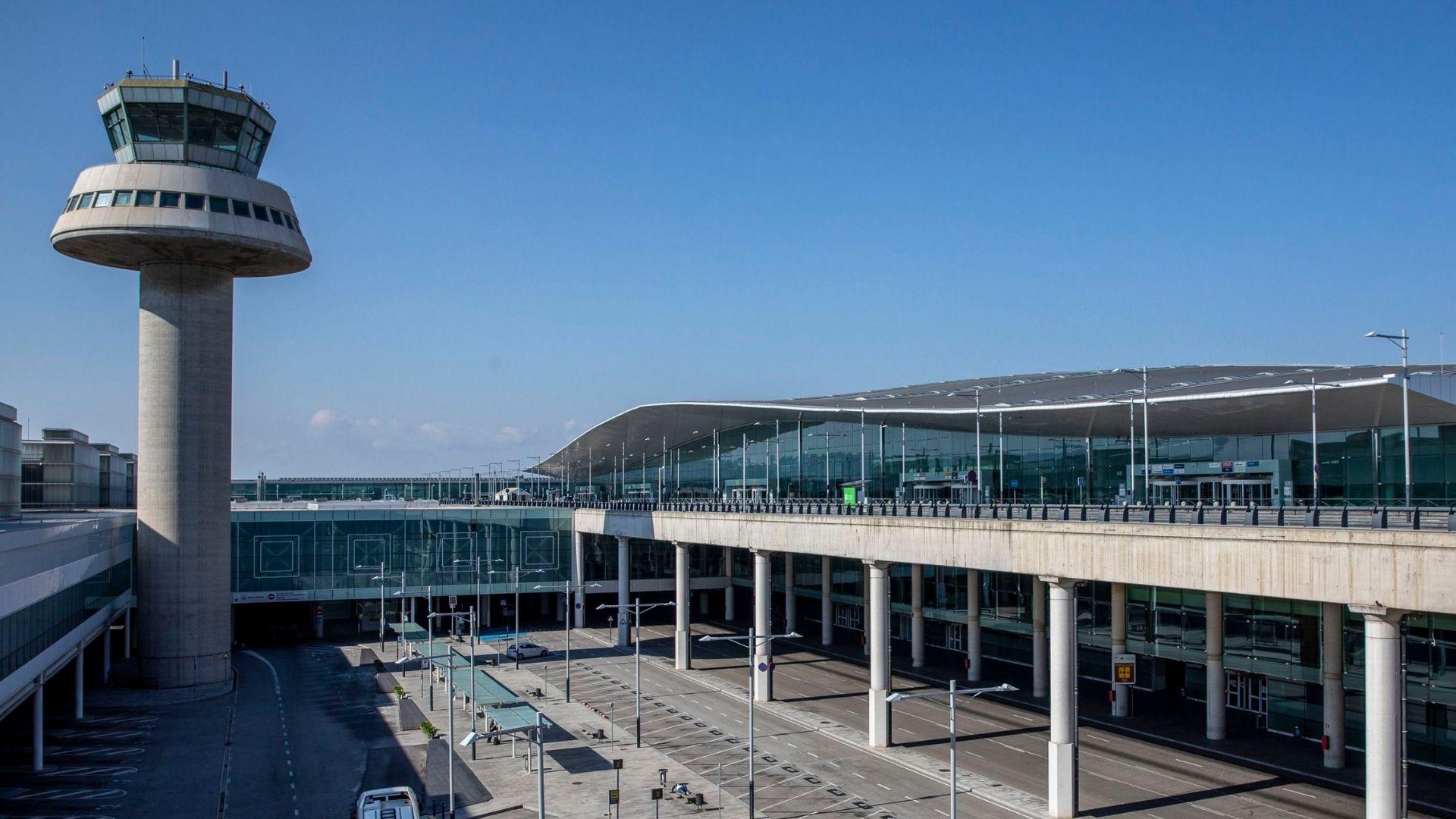 aeroport prat t1 torre control