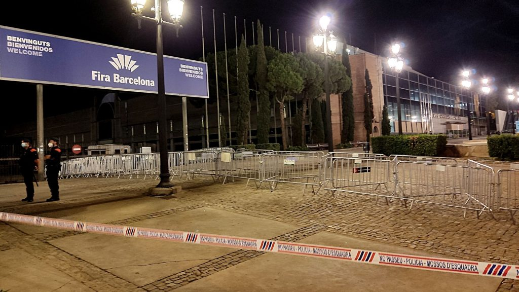 fira de barcelona blindada