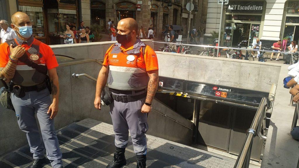 metro jaume I tancat