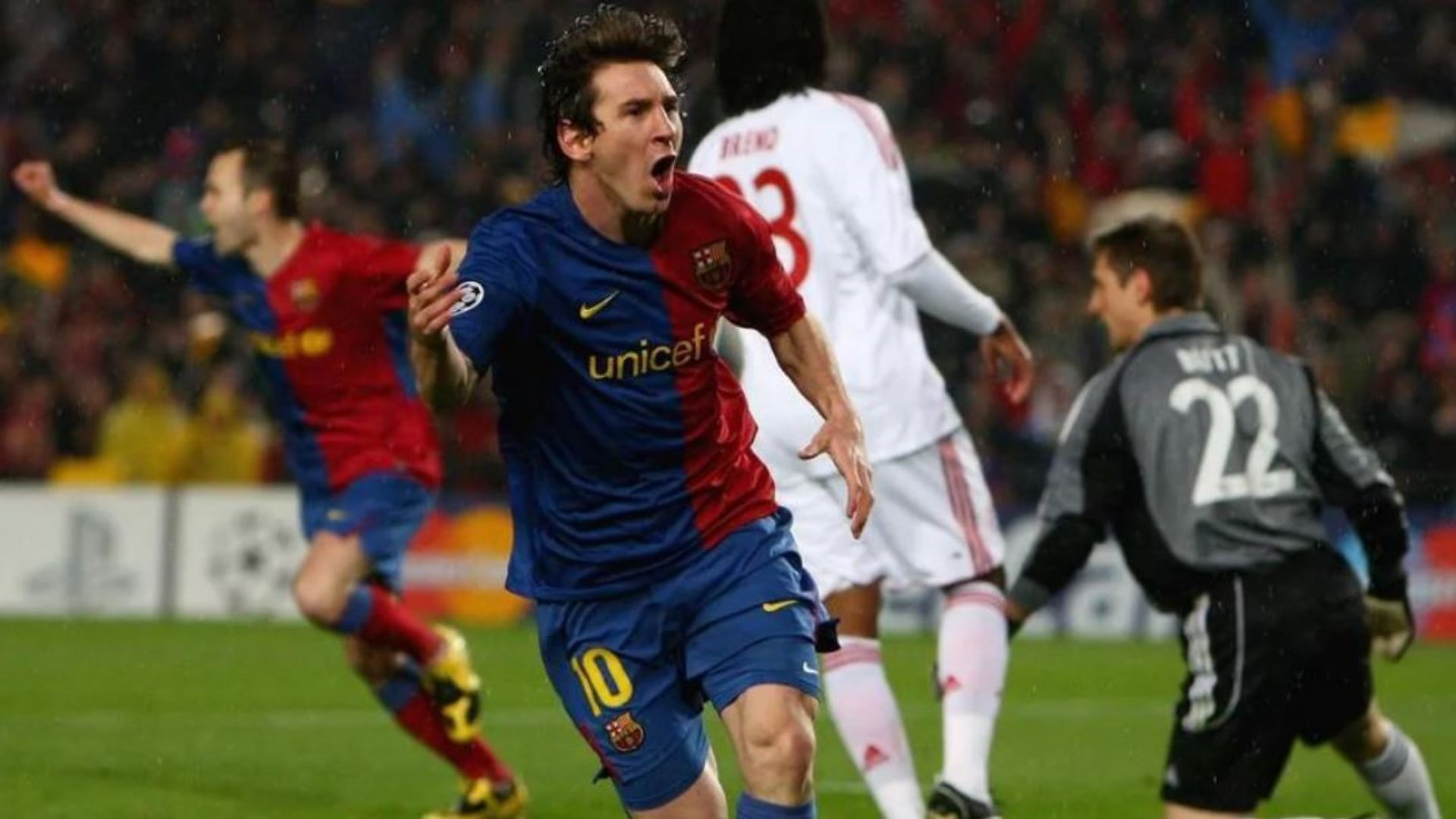 Barça Bayern Messi