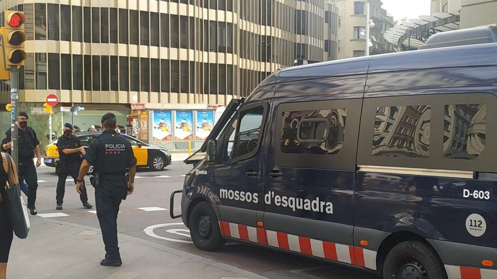mossos via laietana
