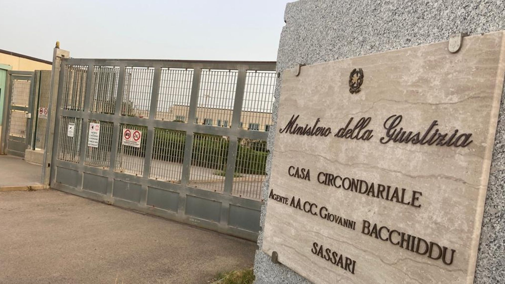 presó Sassori Sardenya Puigdemont