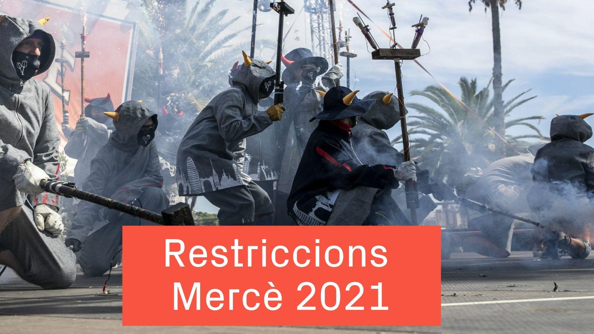 restriccions mercè 2021