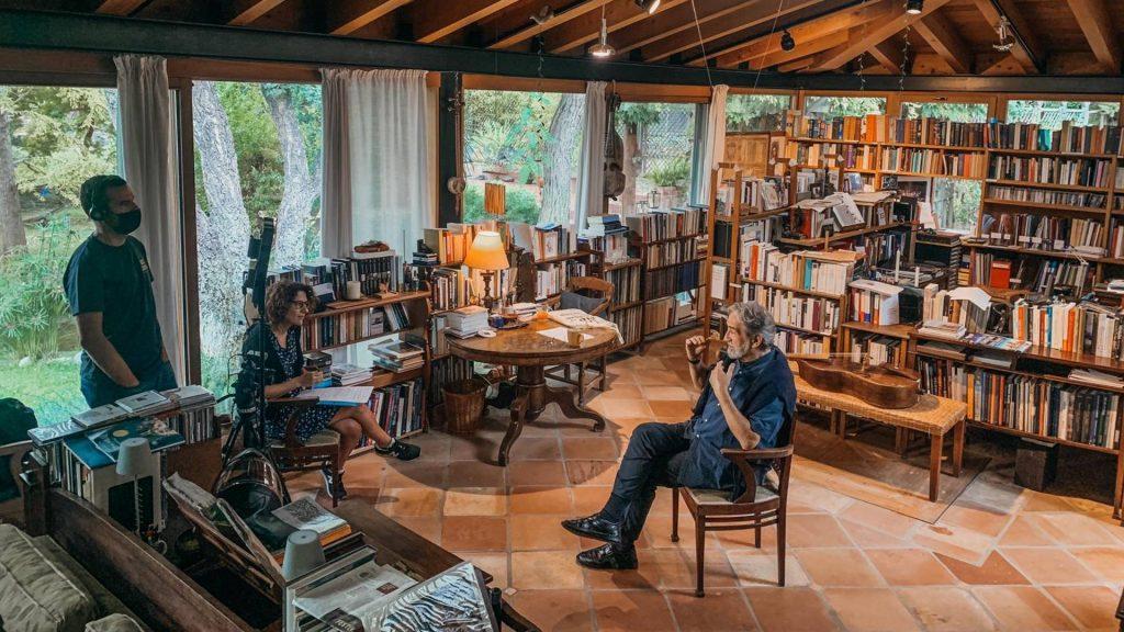 Retrats Jordi Savall rodatge
